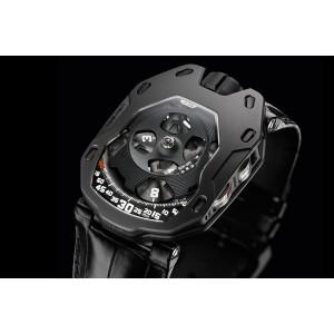Urwerk [NEW][LIMITED 77][全新限量77支] UR-105M Dark Knight Altin (Retail:US$72,000)