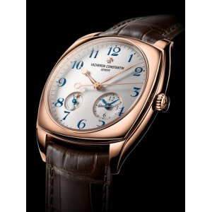 VACHERON CONSTANTIN [NEW] Harmony Dual Time Silvered Opaline Dial Mens 7810S/000R-B051