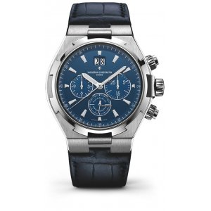 Vacheron Constantin [NEW] Overseas Chronograph Blue 49150-000A-9745 (Retail:HK$164,000)