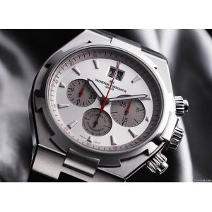 VACHERON CONSTANTIN [NEW] Overseas Chronograph Silver Dial Automatic 49150-000A-9017 (Retail:HK$164,000)