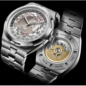 Vacheron Constantin [NEW] Overseas World Time 7700V-110A-B129 (Retail:US$37,000)