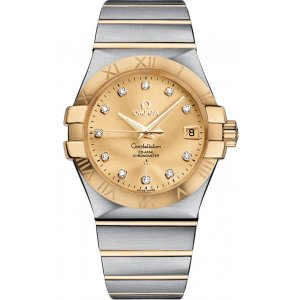 OMEGA [NEW] Constellation Champagne 123.20.35.20.58.001 (Retail:HK$62,200)