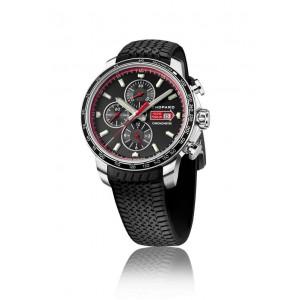Chopard 全新 168571-3001 Mille Miglia GTS Chrono Black Dial Black Rubber Racing Tires Men's Watch