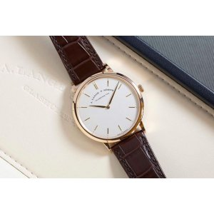 A. Lange & Söhne [NEW] Saxonia Thin Manual Wind 40mm Mens Watch 211.032 (Retail:EUR 21000)