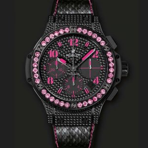 Hublot [NEW] Big Bang Black Fluo Pink 341.SV.9090.PR.0933 (Retail:US$24,900)