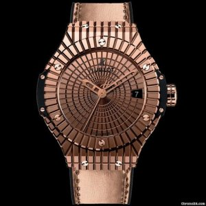 Hublot [NEW] Big Bang Gold Caviar 41mm Ladies 346.PX.0880.VR (Retail:EUR 30000)