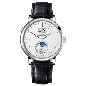 A. Lange & Söhne [NEW] Saxonia Moon Phase 40mm Mens Watch 384.026 (Retail:EUR 28700) - SOLD!!