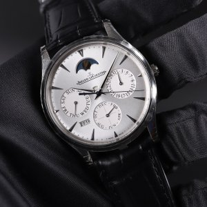 JAEGER LECOULTRE [NEW] Master Ultra Thin Perpetual Silver Dial Q130842J (Retail:HK$145,000)