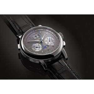 A. Lange & Söhne [NEW] Datograph Perpetual Grey Dial White Gold 410.038E (Retail:EUR 120.000)