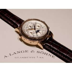 A. Lange & Sohne [NEW] 421.032FE 1815 Rattrapante Perpetual Calender (Retail:EUR204.900)