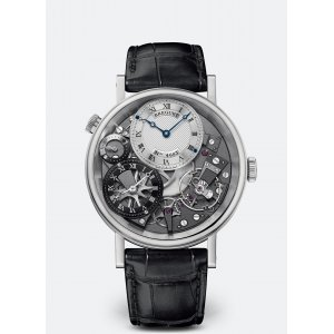 Breguet [NEW] Tradition GMT Silver Skeleton Dial 7067BB/G1/9W6 white gold (List Price:HK$318,600)