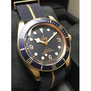 Tudor [NEW] Black Bay Bronze Bucherer 79250BB Automatic Mens Watch
