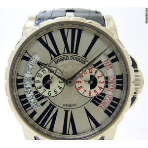Roger Dubuis [NEW] Automatic White Gold Watch EX45 1448 0 3.7ATT/28 (Retail:HK$545,000)