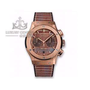 Hublot [NEW][LIMTIED 50 PIECE] Classic Fusion Chronograph Italia Independent Prince-De-Galles 521.OX.2709.NR.ITI18