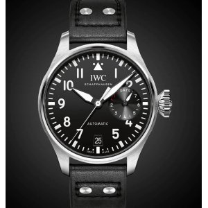 IWC [NEW] Big Pilot Black Dial Automatic IW500912 (Retail:HK$105,000)