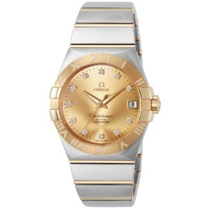 Omega [NEW] Constellation Co-Axial 38mm 123.25.38.21.58.002 (Retail:HK$126,400)