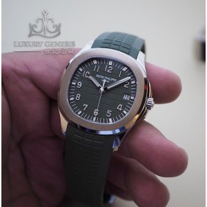 Patek Philippe [2019 NEW MODEL][2019年最新款][NEW] Aquanaut Khaki Green 5168G