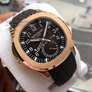 Patek Philippe [NEW] Aquanaut Travel Time 5164R-001 (Retail:HK$381,900)