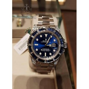 Rolex [2018 NEW MODEL] Submariner Date 116659SABR Diamond Sapphire All Blue Dial