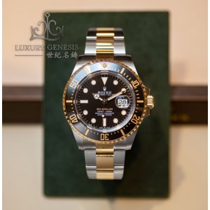 "Rolex [2019 NEW MODEL][香港行貨][2019年最新款] Sea-Dweller 126603 Two-Tone ""Rolesor"" 43mm (Retail:HK$125,400)"