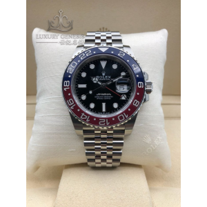 Rolex [NEW 2018 MODEL][香港行貨] Pepsi GMT-MASTER II 126710BLRO