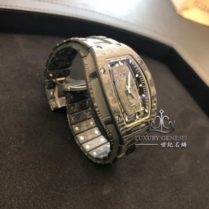 Richard Mille [NEW] RM 07-01 NTPT Carbon Closed Bracelet Automatic Ladies Watch