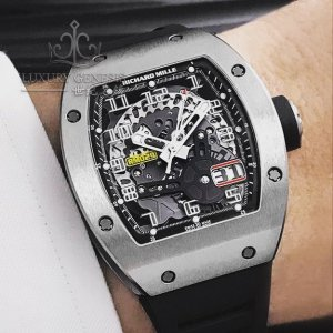 Richard Mille [NEW] RM 029 Titanium Big Date (Retail:US$85,000)
