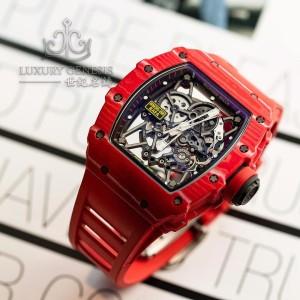 Richard Mille (理查德•米勒) [NEW] RM 35-02 Rafael Nadal Quartz-TPT Red Version