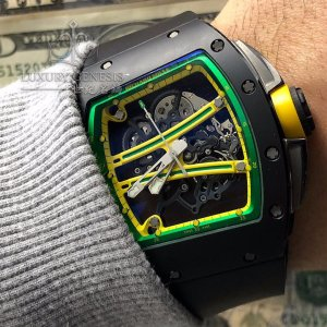 Richard Mille [2015 USED] RM 61-01 Yohan Blake TZP Black Ceramic Watch