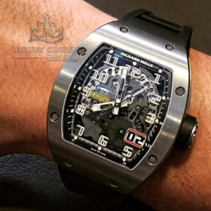 Richard Mille [2017 USED] RM 029 Titanium Big Date Automatic Mens Watch