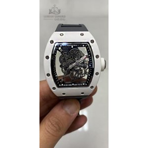 Richard Mille [2015 USED] RM 055 Bubba Watson White Ceramic Mens Watch