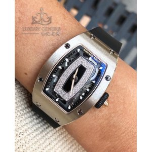 Richard Mille [NEW] RM 07-01 White Gold Ladies (Retail:HK$809,000)