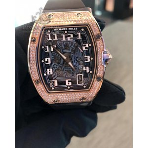 Richard Mille [NEW] RM 67-01 Rose Gold Full Set Diamonds Automatic Extra Flat Ladies