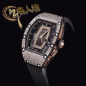 Richard Mille **NEW*RARE** RM 037 NTPT Full Pave Diamonds Ladies Watch