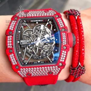 Richard Mille [NEW] RM 35-02 QTPT Diamonds Watch