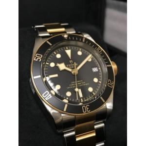 Tudor NEW-全新 79733N (Steel & Gold Bracelet) Heritage Black Bay S&G 41mm