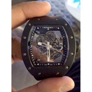 Richard Mille [NEW] RM 055 Bubba Watson AN TI Black Limited 75 Pieces - SOLD!!