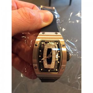 Richard Mille [NEW] RM 07-01 Rose Gold Onyx Dial Black Lip (Retail:US$96,000)