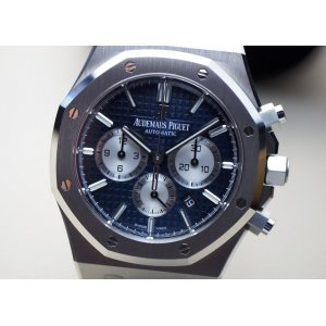 Audemars Piguet [2017 SIHH MODEL] Royal Oak Chronograph Blue Dial 26331ST.OO.1220ST.01 (Retail:HK$190,000)