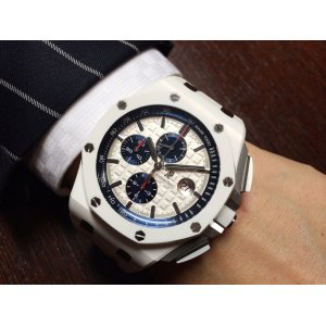 Audemars Piguet [98%-99% NEW] 26402CB ROYAL OAK OFFSHORE CHRONOGRAPH WHITE 44mm - SOLD!!