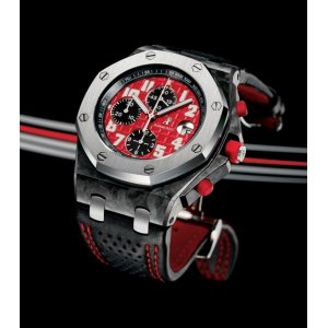Audemars Piguet [NEW-OLD-STOCK][LIMITED 250 PC] Royal Oak Offshore Singapore Grand Prix Chrono 26190OS.OO.D003CU.01 - SOLD!!