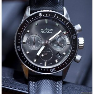 Blancpain [NEW] Fifty Fathoms Bathyscaphe Chronographe Flyback 5200-1110-B52A (Retail:EUR 13890)