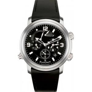 Blancpain [NEW] Leman Reveil GMT 2041-1230-64B Mens Watch (Retail:EUR 22240)