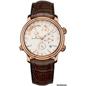 Blancpain [NEW] Leman Reveil GMT Mens 2841-3642-53B (Retail:HK$288,500)