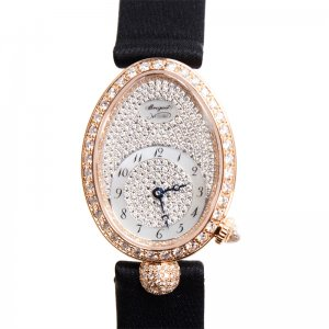 BREGUET [全新] 8928BR/8D/844DD0D Reine De Naples Rose Gold (Retail CHF$37,200)