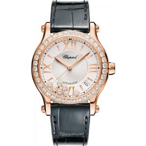 Chopard [NEW] Happy Sport Diamond Ladies Watch 274808-5006