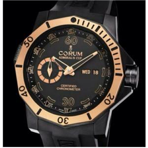 Corum [NEW] Admiral's Cup 48mm Seafender Deep Dive Watch 947.950.86/0371 (Retail:HK$127,100)