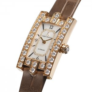 Harry Winston [NEW] Avenue Classic Automatic Ladies AVEAHM21RR001 (Retail:US$38,900)