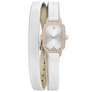 Harry Winston [NEW] Emerald quartz 18K rose gold timepiece set with one row EMEQHM18RR001