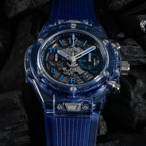 Hublot NEW-全新-LIMITED 250-限量250支 Big Bang Unico Blue Sapphire 45mm 411.JL.4809.RT (Retail:HK$635,600)